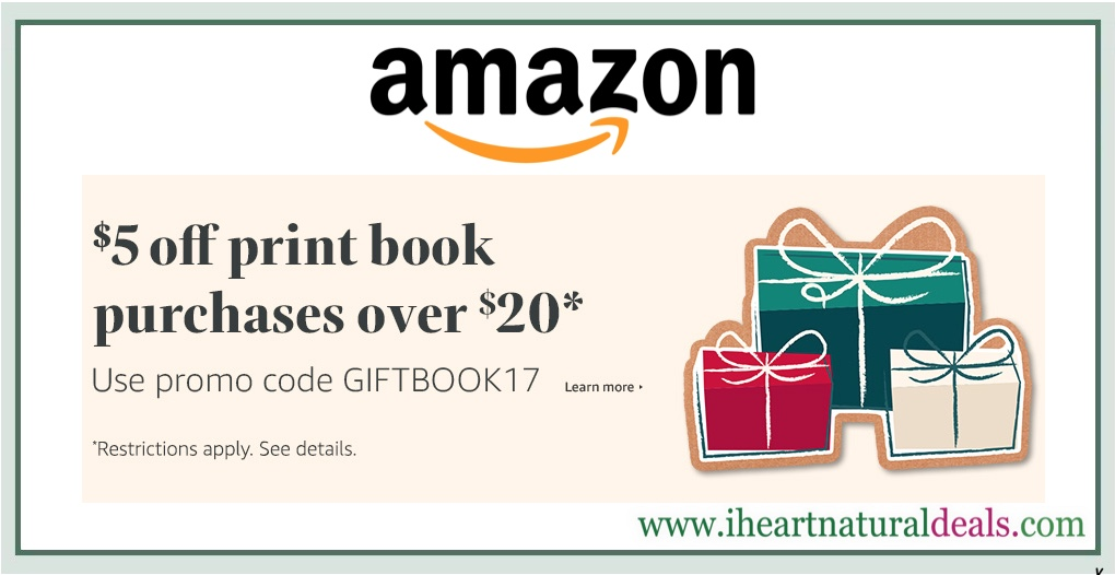 Amazon book deal promotional giveaways