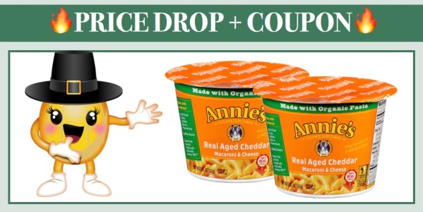 Annie's Macaroni and Cheese Microwave Cups (Real Aged Cheddar)
