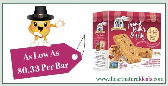 Bakery on Main Gluten Free 4-4-8 Granola Bars