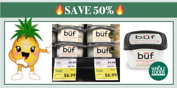 Buf Creamery Mozzarella di Bufala Ciligiene Coupon Deal