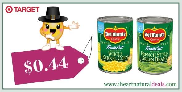 Del Monte Canned Vegetables