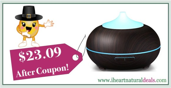 KindleTheFire 300ml Essential Oil Diffuser