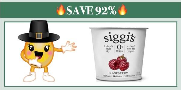 Siggi's Dairy Yogurt