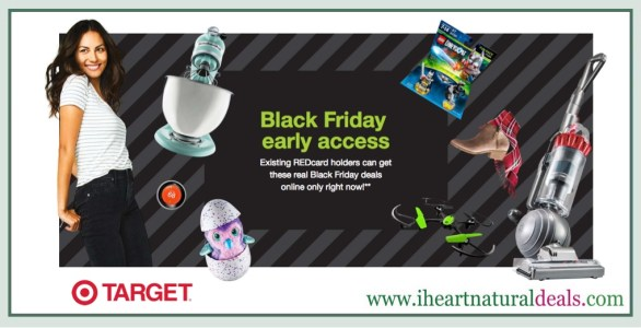 Target Black Friday Early Access