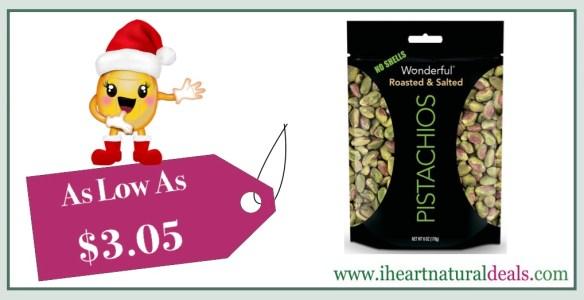 Wonderful Pistachios 6 oz 5 Pack
