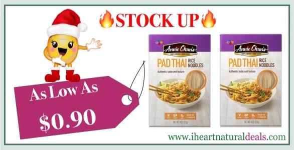 Annie Chun's Rice Noodles Pad Thai