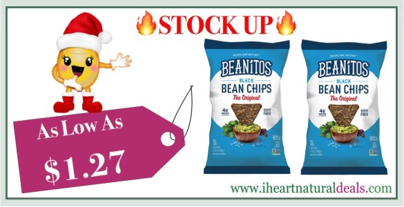 Beanitos Black Bean Chips with Sea Salt
