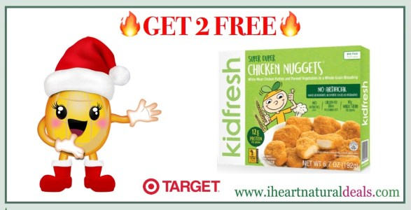 Get 2 Free Kidfresh Super Duper Chicken Nuggets At Target Reg 349