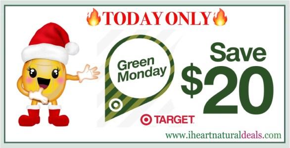 Target Green Monday