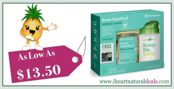 Amazing Grass Green Superfood 5 Day Detoxifying Cleanse Kit
