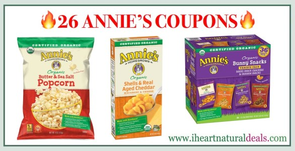 Annie's Coupons