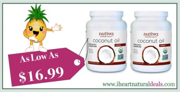 Nutiva Organic Coconut Oil