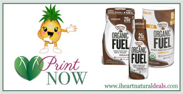 Organic Valley Organic Fuel Coupons