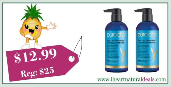 Pura D Or Hair Loss Prevention Therapy Conditioner 16 Oz Only