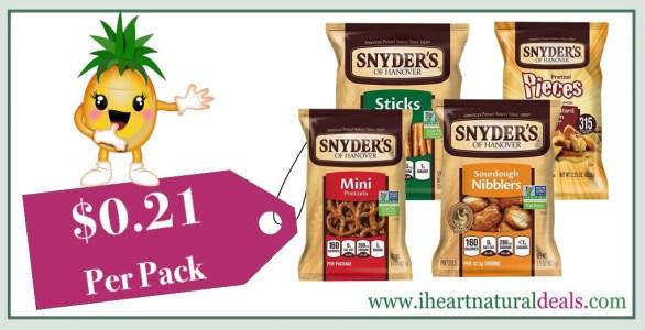 Snyder's of Hanover Pretzel Variety Pack