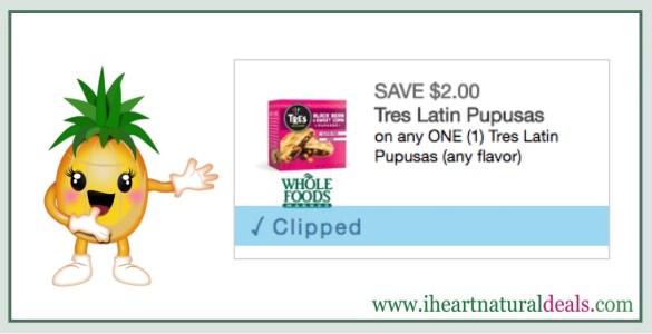 Tres Latin Pupusas Coupon