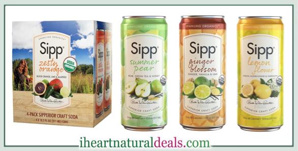 Up To 65 Off Sipp Sparkling Organics Soda
