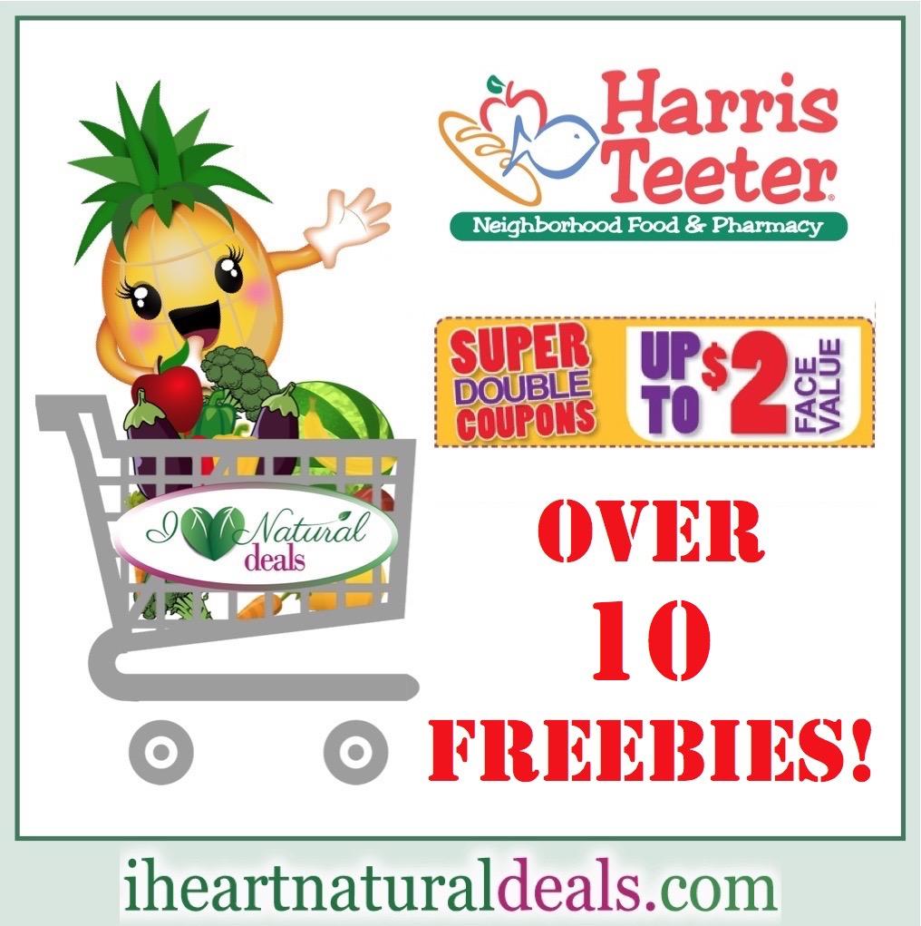 Harris Teeter Super Doubles (8/26 - 8/28) - Includes 15 FREEBIES!!