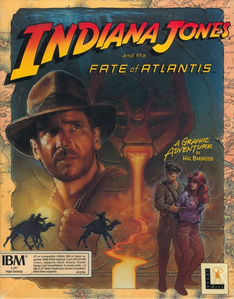 [Happy Birthday!] Indiana Jones and the Fate of Atlantis