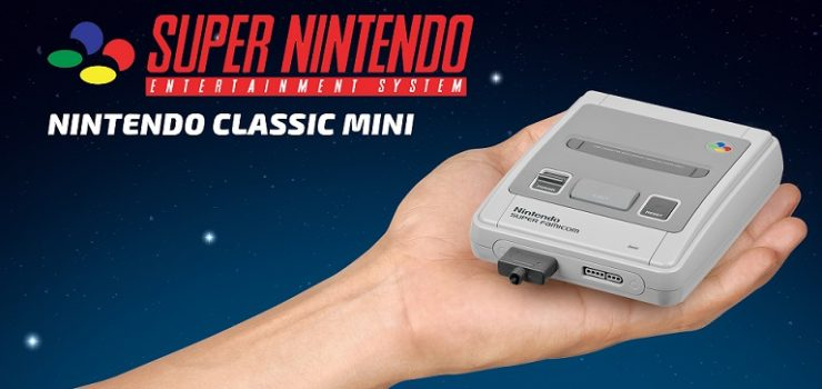 [Shut up and take my money!] SNES Mini. Or my 2017 Christmas gift
