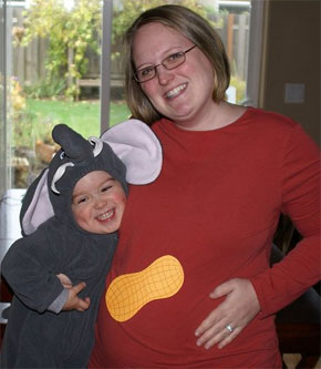 watch for more cute ideas on our pregnancy halloween costume pinterest board