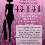 Clothes Hound and Adore fashion show at Oliver Twist
