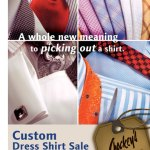 {Sale Alert} Up to 25% Off Custom Mens Shirts at Chockey's