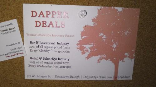 dapper deals