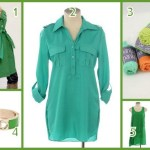St. Patrick's Day green from Clothes Hound and E's Closet Boutique