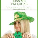 Kiss me, I'm local