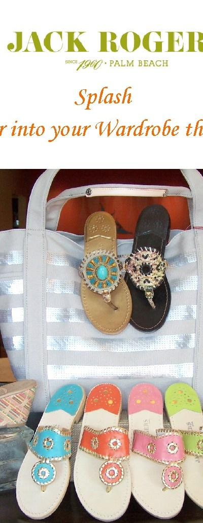 Jack Rogers sandals in Cary at Kristen's