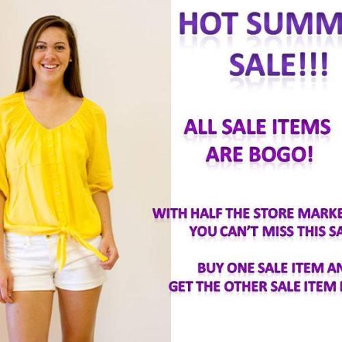 Clothes Hound BOGO summer sale