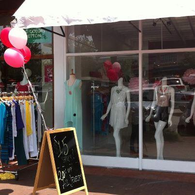 Fedora Sidewalk Sale at Cameron Village