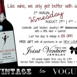 {You're Invited} End of Summer Happenings at Joint Venture Jewelry + Peachy Keen