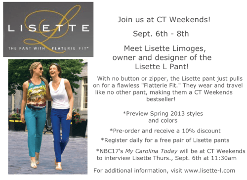 Lisette Pant Event at C.T. Weekends