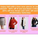 {Sale Alert} Buy More, Save More event at Clothes Hound in Raleigh
