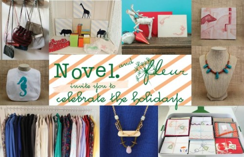 Novel. Charleston Trunk Show at Fleur
