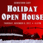 {You're Invited} Downtown Cary Holiday Open House on Thursday