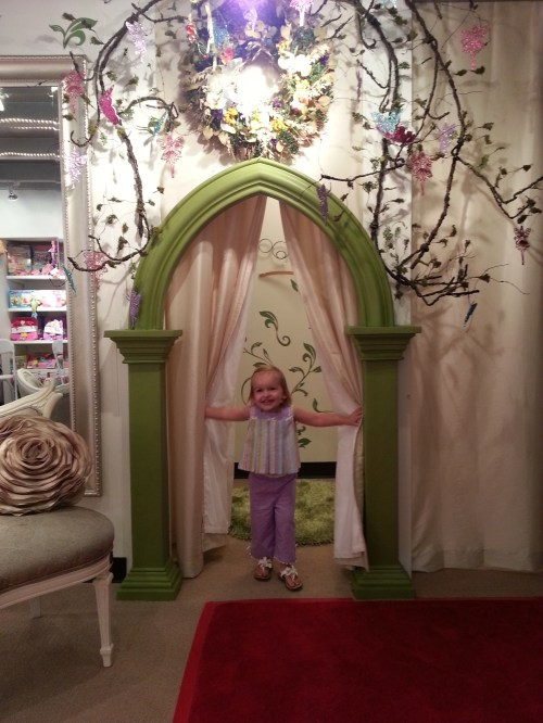 Dressing Room at The Enchanted Fairy