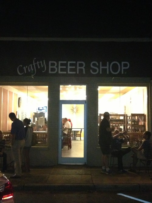 Crafty Beer Shop in Raleigh's Five Points is now open