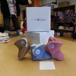 """Welsh brand Inch Blue """"Cwtches """" booties at Nüvonivo"""