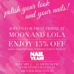 {You're Invited} Monograms & Manicures & 15% Off