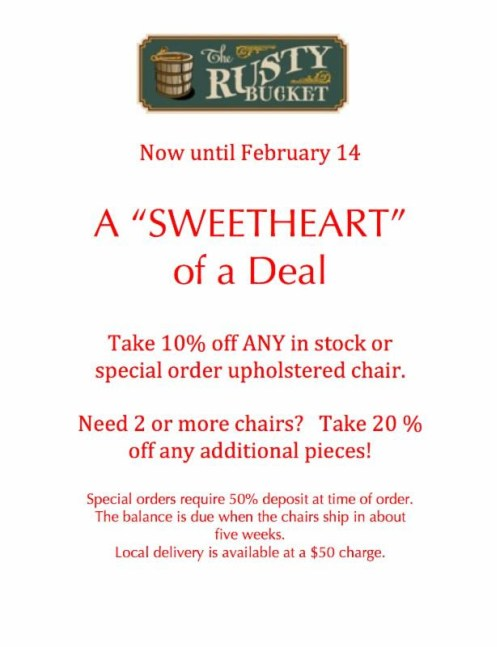 Rusty Bucket in Apex Sweet of a Deal