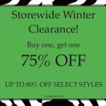 Up to 75% off at Anna & Alice