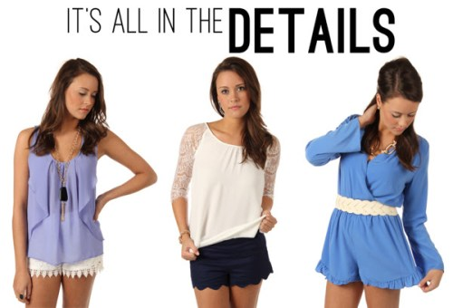 Madison at Cameron Village is hosting a spring fashion It's All in the Details event