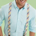 Suspenders for men's collections in Spring 2014
