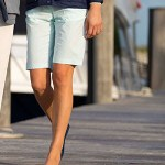 Peter Millar Seersucker Knee Short for her