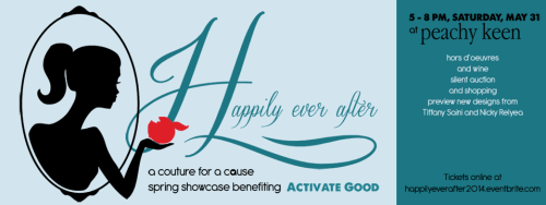 Peachy Keen hosts Happily Ever After couture event to benefit Activate Good