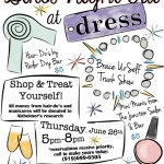 June 2014 Girls Night Out at dress. in Raleigh