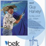 Guy Harvey personal appearance at Belk at Crabtree in Raleigh